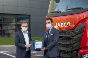 Tahače S-Way na LNG upevňují partnerství mezi IVECO a Arcese