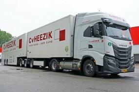 Dopravní společnosti C. van Heezik Transport začalo sloužit 45 nových vozů IVECO