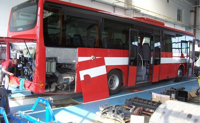 servis autobusů autohelus